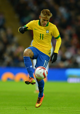 Santos forward Neymar will be integral to Brazil's chances at the Confederations Cup.