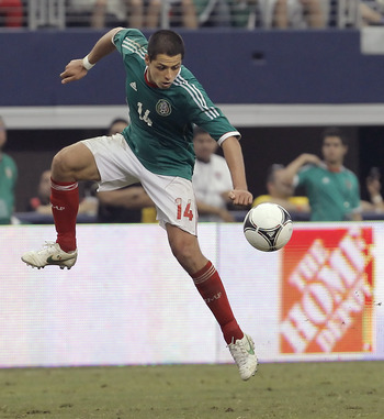 Chicharito Hernández is Mexico's best option on offense