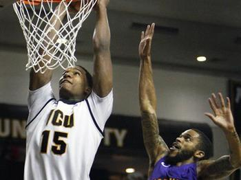 VCU junior forward Juvonte Reddic. By Dean Hoffmeyer, AP