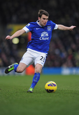 Coleman was Everton's man of the match against Manchester City