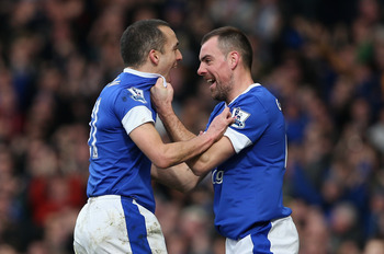 Gibson has developed into Everton's best central midfielder