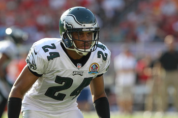 Nnamdi Asomugha was sent packing by the Eagles after two subpar seasons.