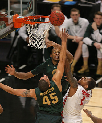 Michigan State has to assert itself and win the rebound wars.