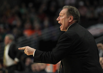 Tom Izzo would be &quot;disappointed&quot; if Michigan State fails to make a run this March.