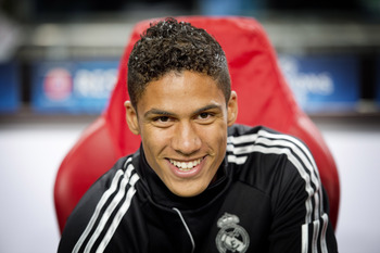 Varane will likely get his first taste of international action for France against Georgia