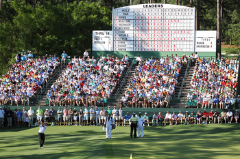The 15th green is always a popular spot with patrons.