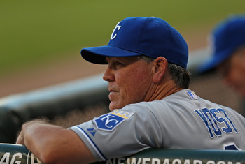 Ned Yost (Kansas City Royals).
