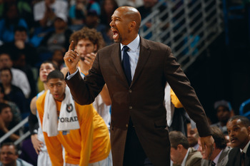 Monty Williams has his work cut out for him with the youth of his team.