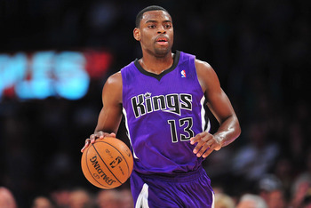 Tyreke Evans has languished in Sacramento.