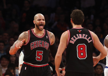 Carlos Boozer has not been able to please the Chicago fans.