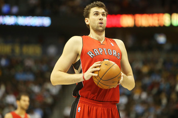 Andrea Bargnani has had a rough year in Toronto.