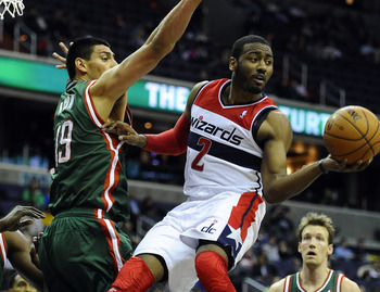John Wall isn't getting the respect he wants in Washington.