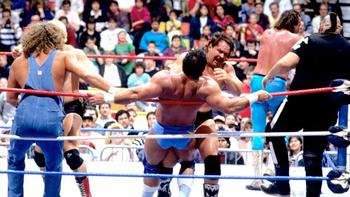 1988 Royal Rumble Match - Photo from WWE.com