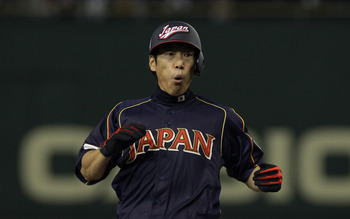 In his first WBC appearance, Ibata hit .556 in six games.