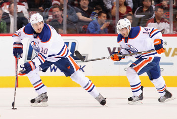 With Shawn Horcoff in the lineup the Oilers have a more well-rounded attack.