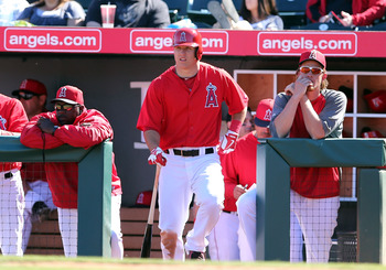 Despite talk about his weight, Mike Trout continues to be a shining star in the loaded Angels lineup.