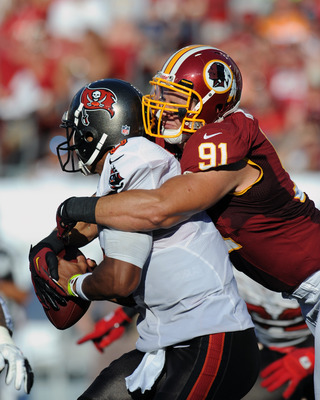 He's played every single snap in the last two years, and Ryan Kerrigan should be even better in 2013.