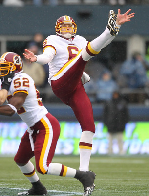 Sav Rocca signed a new contract with Washington and will resume punting for the Redskins in 2013.