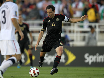 Gerardo Torrado has been capped 137 times with Mexico.