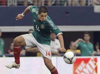 Javier Hernández has scored 28 times with El Tri.