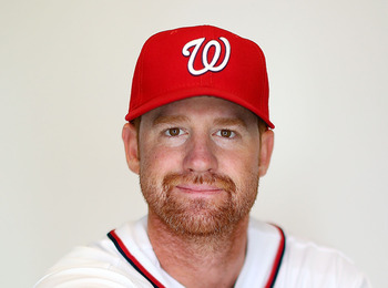 Nationals' first baseman Chad Tracy.