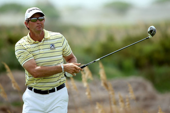 Retief Goosen has struggled with injuries but has two majors to his credit.