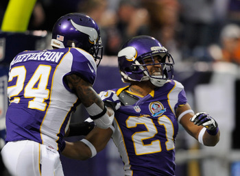 The Vikings are counting on Josh Robinson to have a great year in 2013.
