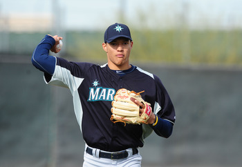 Taijuan Walker will soon be pitching right behind Felix Hernandez in the Mariners' rotation.