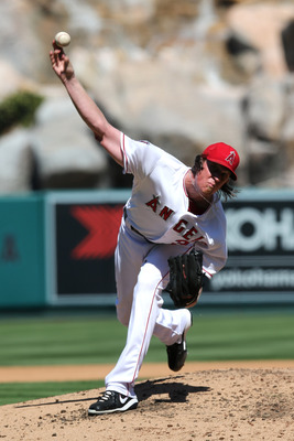 When Jered Weaver isn't starting at pitcher-friendly Angel Stadium, he's not a fantasy ace.