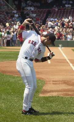 Nomar Garciaparra used to slow baseball games to a crawl.