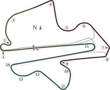 Track diagram by Will Pittenger