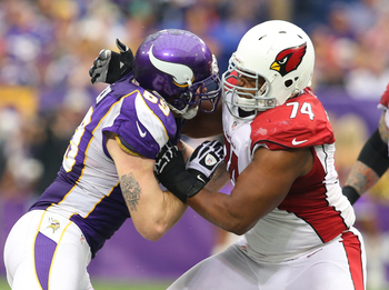 The Cardinals haven't had a good offensive line in years.