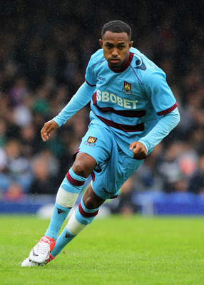 Claret and Blue boy: Rob Hall signed for West Ham as a seven-year-old and is hotly tipped to be a future West Ham star.
