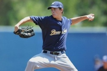San Diego's Max Fried has the projection to be a big mover in 2013. Courtesy of MiLB.com