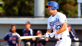 The Royals played it very conservatively with Bubba Starling in 2012. Courtesy of Matt Burton, MiLB.com