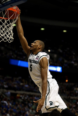 Adreian Payne is Weapon-X for the Spartans.