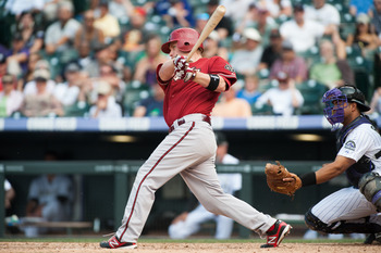 Aaron Hill hit for the cycle twice...in the same month!