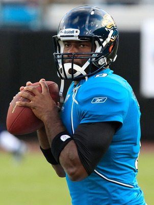 David Garrard hopes to challenge Mark Sanchez and revive his career.