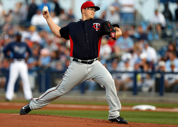 While it hasn't been officially announced, it appears that Vance Worley will be the Twins' Opening Day starter.