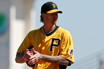 A.J. Burnett draws his first-ever Opening Day start for the Pittsburgh Pirates.
