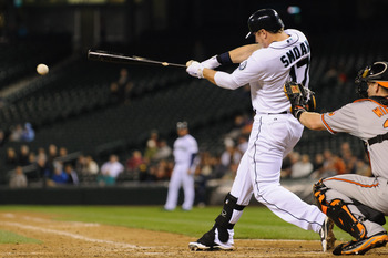 Mariners first baseman Justin Smoak has been smoking hot all spring with a .408 average.