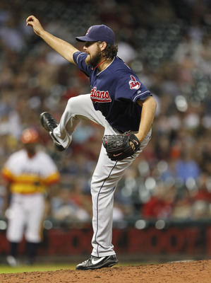 Indians closer Chris Perez