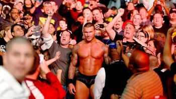 Randy Orton, man of the people. Source: WWE.com