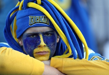 The facial expression of UCLA fans for the past decade.