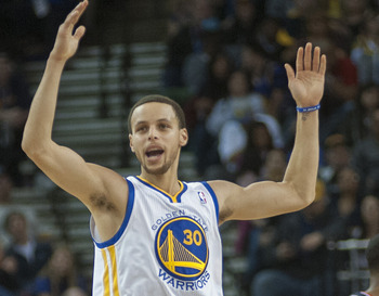 Golden State Warriors' Stephen Curry