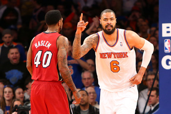 New York Knicks' Tyson Chandler