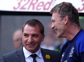 Brendan Rodgers and David Moyes will be hoping that Arsenal drop points.