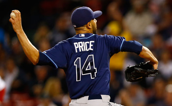 David Price showed complete dominance last season winning his first Cy Young Award.