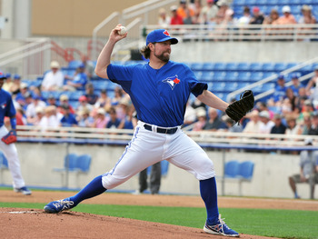 2012 Cy Young winnter R.A. Dickey was traded to the Blue Jays this off season.
