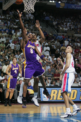 Kobe Bryant in the 2004 NBA Finals.